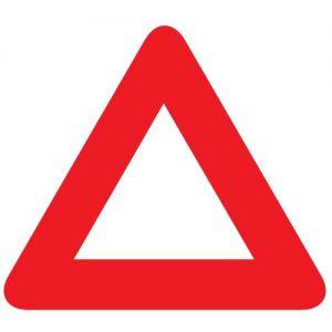 Avārijas zīme - transportlīdzekļu pazīšanas zīme