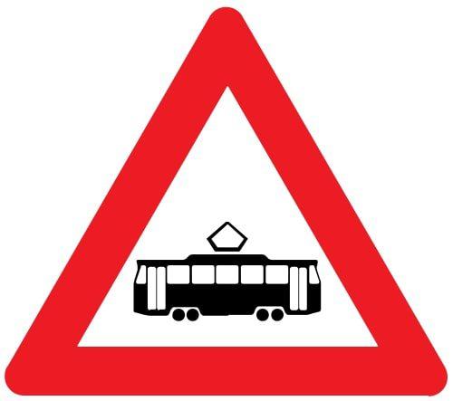 Nr. 131 Tramvaja sliežu šķērsošana