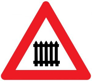 Nr. 132 Dzelzceļa pārbrauktuve ar barjeru