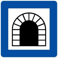 Ceļa zīme - Nr. 544 Tunelis