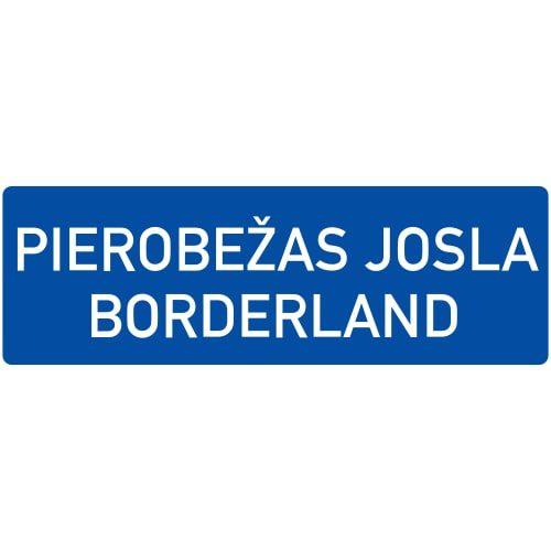 Ceļa zīme - Nr. 549 Pierobežas joslas sākums