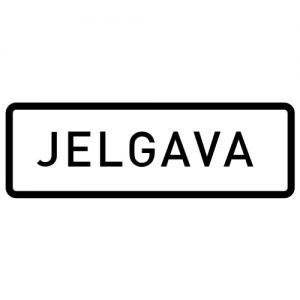 Ceļa zīme - Nr. 555 Apdzīvotas vietas sākums