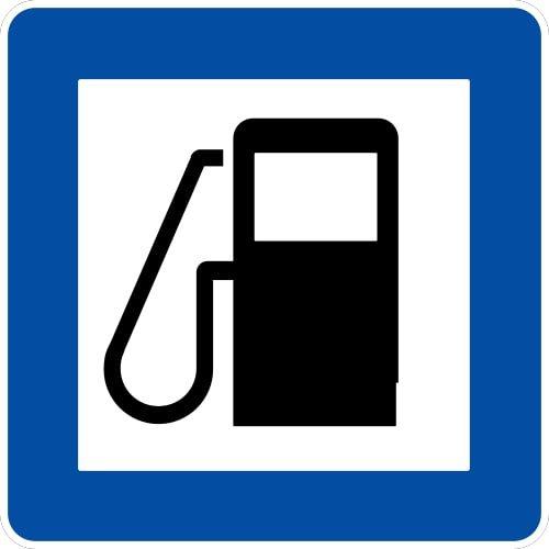 Ceļa zīme - Nr. 603 Degvielas uzpildes stacija