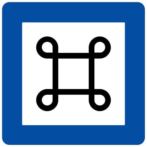 Ceļa zīme - Nr. 631 Ievērojama vieta