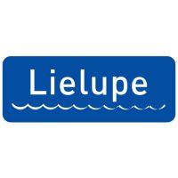 Ceļa zīme - Nr. 708 Ūdensšķēršļa nosaukums