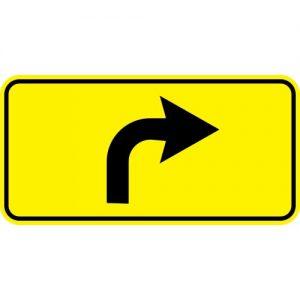 Ceļa zīme - Nr. 732 Apbraukšanas ceļa virziens
