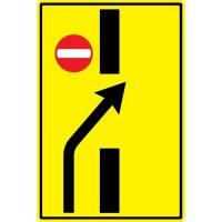 Ceļa zīme - Nr. 738 Iepriekšējs norādītājs pārkārtoties
