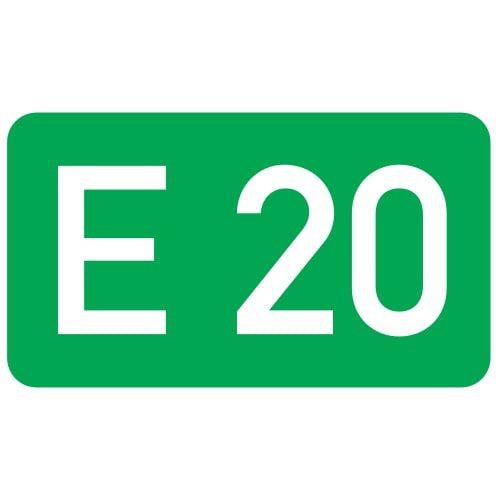 Ceļa zīme - Nr. 740 Ceļa numurs