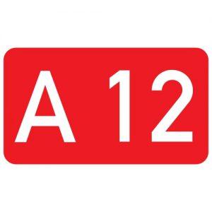 Ceļa zīme - Nr. 741 Ceļa numurs