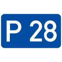 Ceļa zīme - Nr. 742 Ceļa numurs