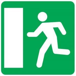Ceļa zīme - Nr. 752 Avārijas izeja