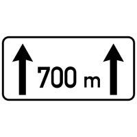 Ceļa zīme - Nr. 803 Darbības zona