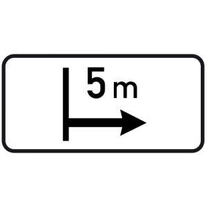 Ceļa zīme - Nr. 807 Darbības zona
