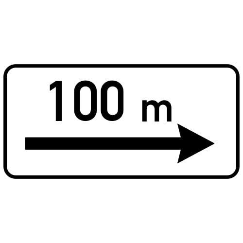 Ceļa zīme - Nr. 808 Darbības zona