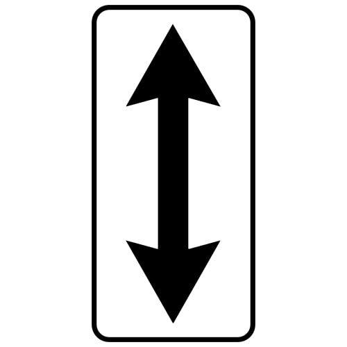 Ceļa zīme - Nr. 809 Darbības zona