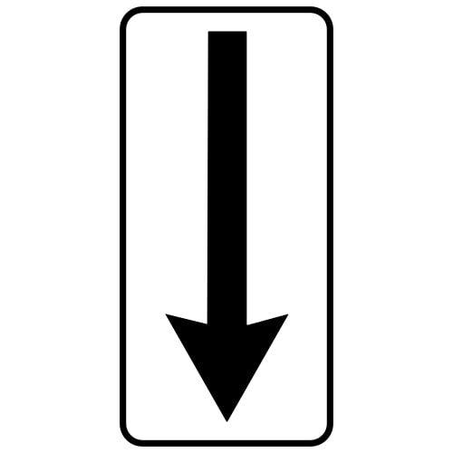 Ceļa zīme - Nr. 810 Darbības zona