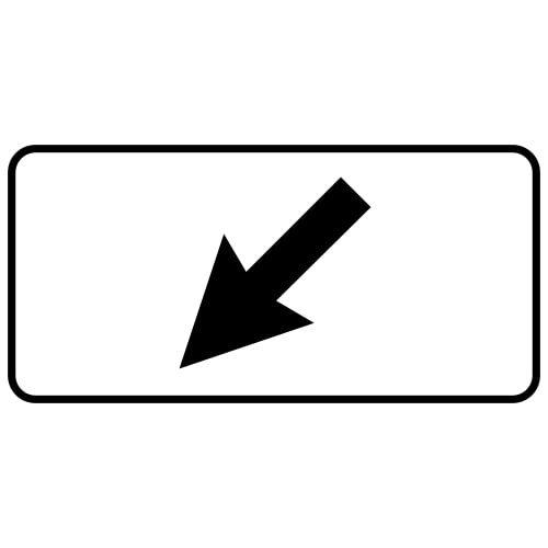Ceļa zīme - Nr. 812 Darbības zona