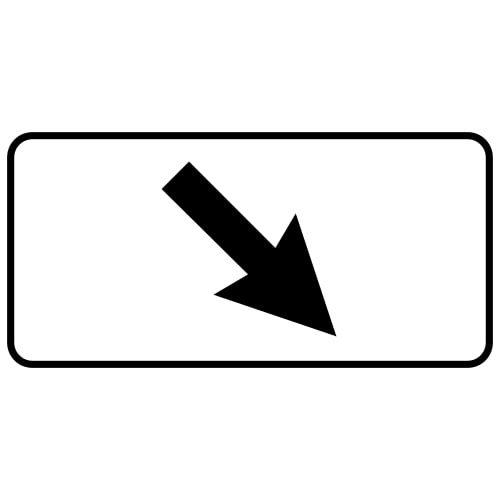 Ceļa zīme - Nr. 813 Darbības zona