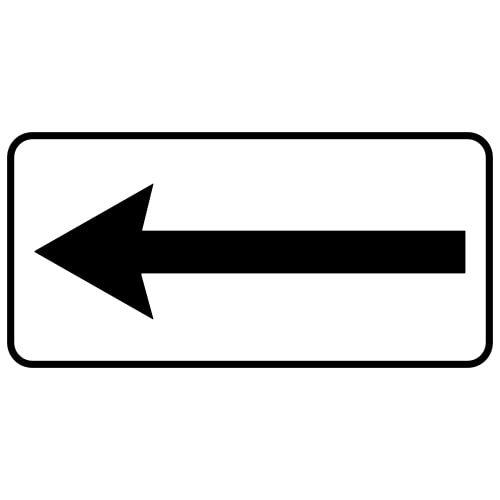 Ceļa zīme - Nr. 814 Darbības virziens