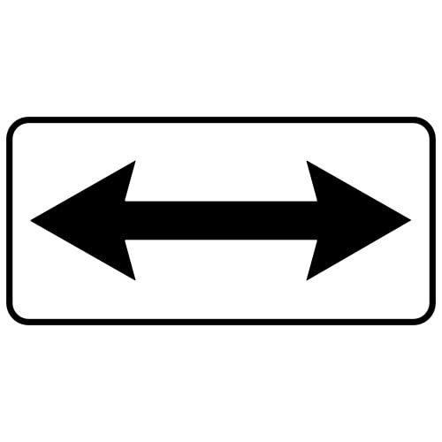Ceļa zīme - Nr. 815 Darbības virzieni