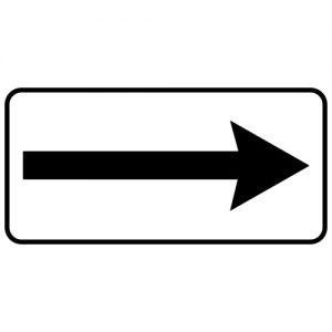 Ceļa zīme - Nr. 816 Darbības virziens