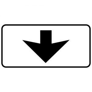 Ceļa zīme - Nr. 817 Braukšanas josla