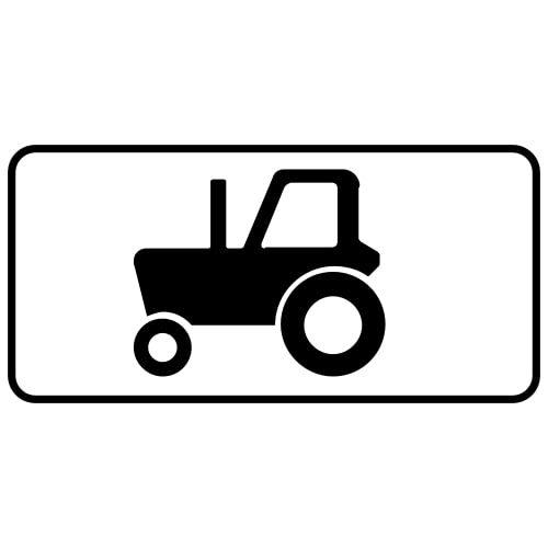 Ceļa zīme - Nr. 822 Transportlīdzekļa veids