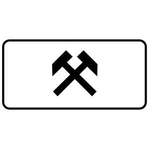 Ceļa zīme - Nr. 825 Darbdienās