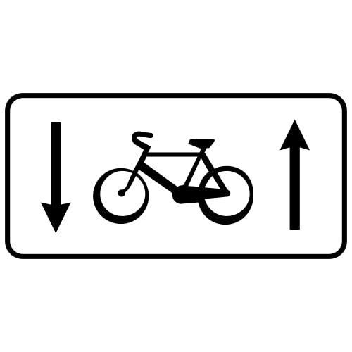 Ceļa zīme - Nr. 855 Informācija par velosipēdu ceļu