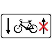Ceļa zīme - Nr. 856 Informācija par velosipēdu ceļu