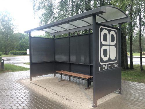 Autobusu pieturvietas nojume