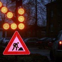 brīdinājuma gaismas