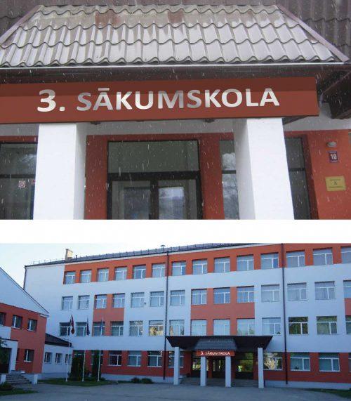 Ēkas nosaukuma uzraksts