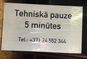 Informācijas norāde - zīme