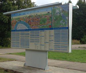 Karte - informācijas stends