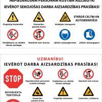 Darba drošības zīmes