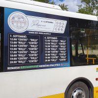 Autobusu aplīmēšana, auto reklāma