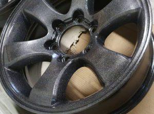 Auto disku pulverkrāsošana